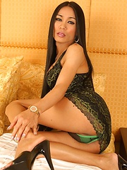 elegant Asian ladyboy Maya