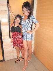 Bareback with a Tiny Thai Girl