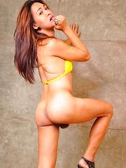 Maria: Yellow Bikini